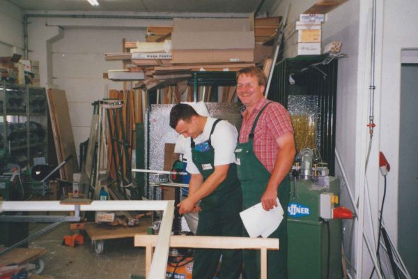 1998 Fensterfertigung